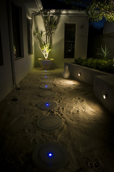 Decking pathway lighting the garden light company for Lights company